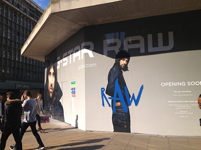Site hoardings and site signage Bristol