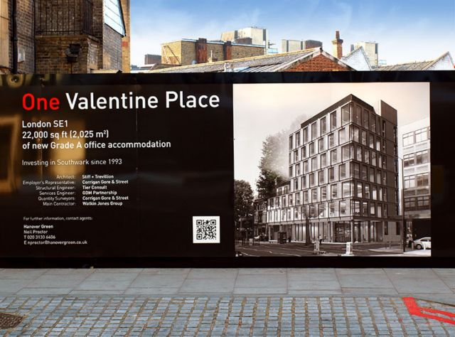 Site hoardings and site signage Manchester