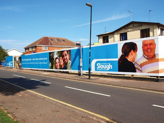 Site hoardings and site signage Exeter